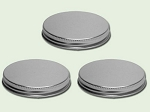 70/400 Silver Aluminum Lid with F217 liner