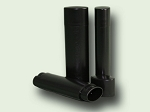 .15 oz Black OVAL Lip Tube NO Cap