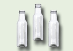 12 oz clear PET sauce bottle 38-400