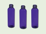 16 oz Cobalt Blue PET Bullet (Cosmo Round)  Bottle 24-410