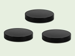 70-400 Black Polypropylene Smooth Unlined Lid