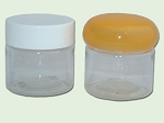 1/2 (.5) oz Clear PET Single Wall Jar 33-400