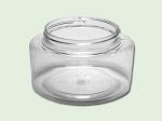 4 oz Clear PET Powell / Contessa Jar 58-400
