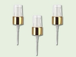 20/410 Gold/White Treatment Pump with clear cover and 4 inch dip tube