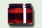 6 oz Amber PET Single Wall Jar 70-400