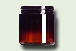 4 oz Amber PET Single Wall Jar 58-400