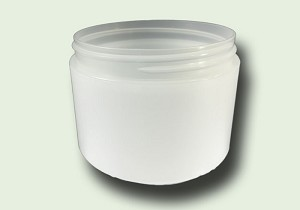 8 oz Frosted Straight Based Double Wall Jar  89-400