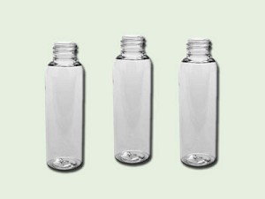 2 oz Clear PET Cosmo Round (Bullet) Bottle 20-410
