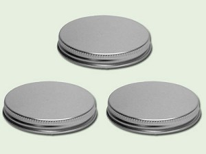 89-400 Silver Aluminum F-217 Lined Lid