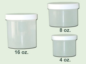 4 oz Natural Polypropylene Single Wall Jar 70/400